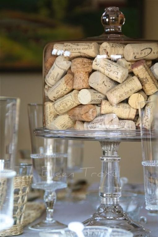 A Unique Way To Display Your Wine Corks