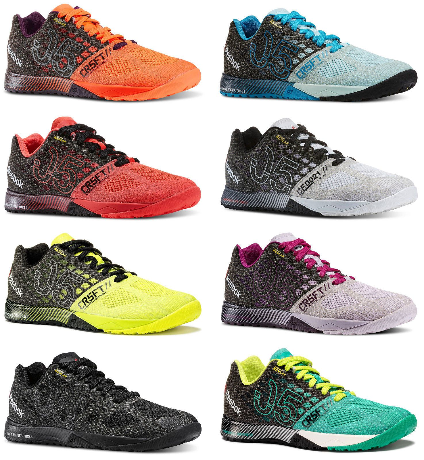 105cd933b125 New Womens REEBOK Nano 5 5.0 Crossfit CrossTraining Sneakers All Colors