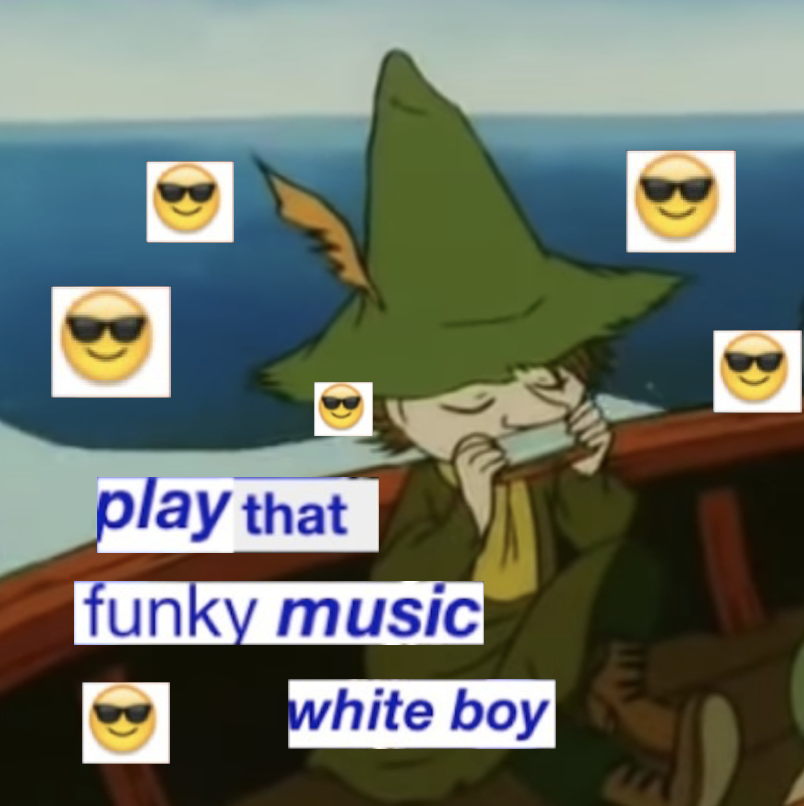 due to personal reasons i'm gonna a snufkin page