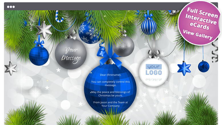 Christmas Ecards For Business Electronic Christmas Card Christmas Card Template Corporate Christmas Cards