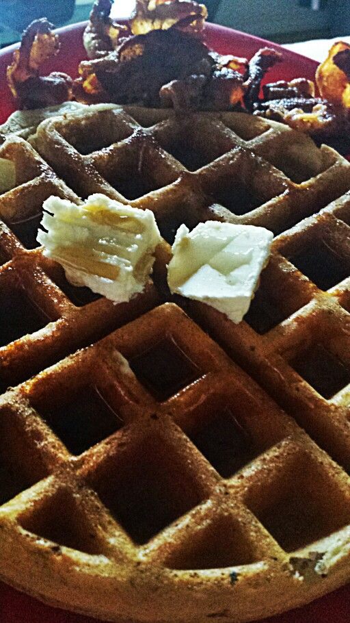 Waffles... and bacon