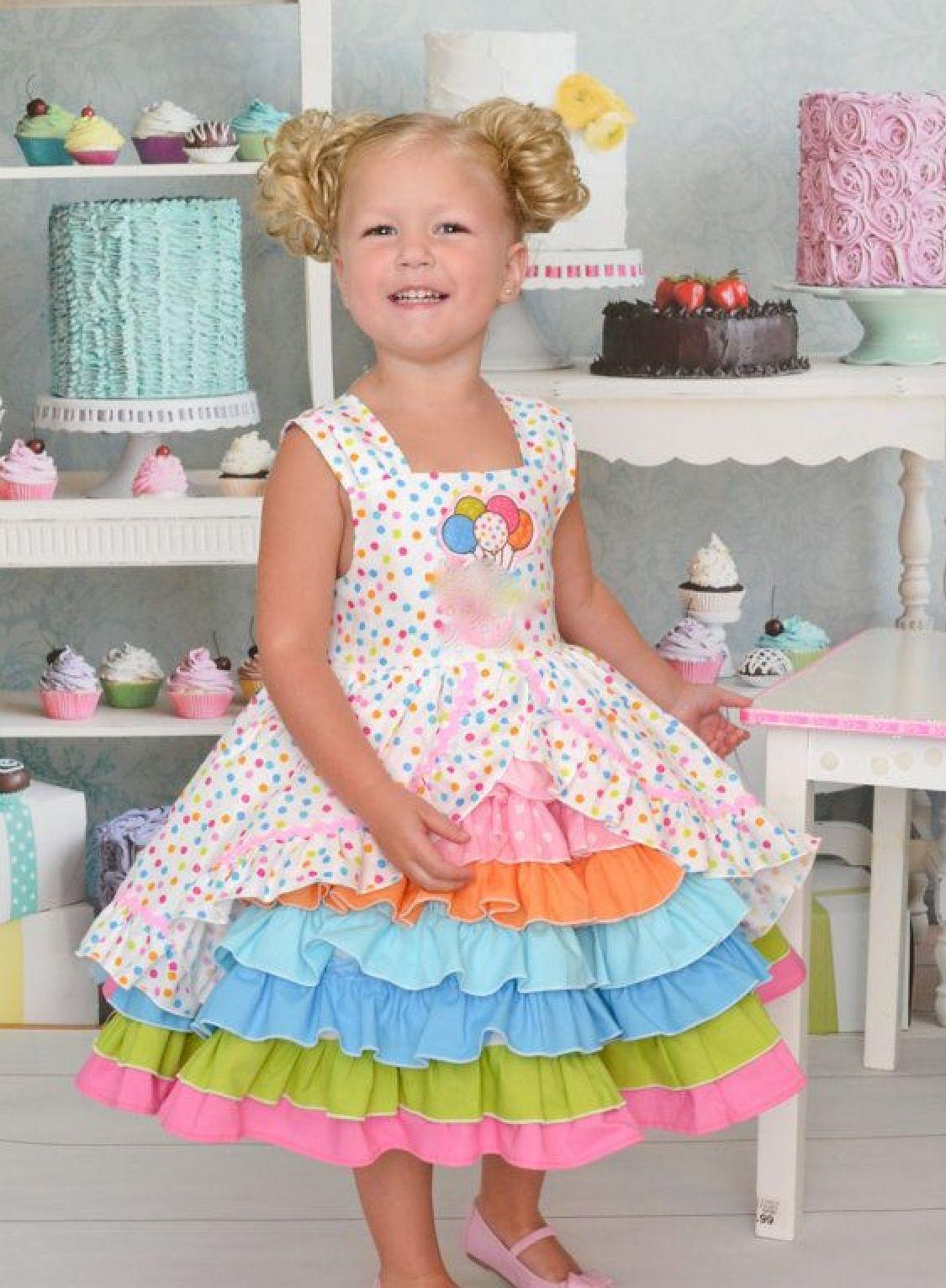 Birthday dress | Children\'s clothing | Pinterest