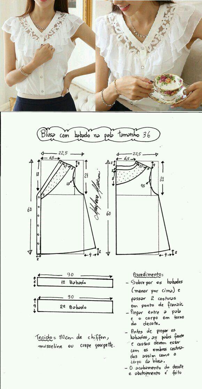 Pin von SumiatiMlg auf Pattern Fashion Style | Pinterest | Nähe und ...