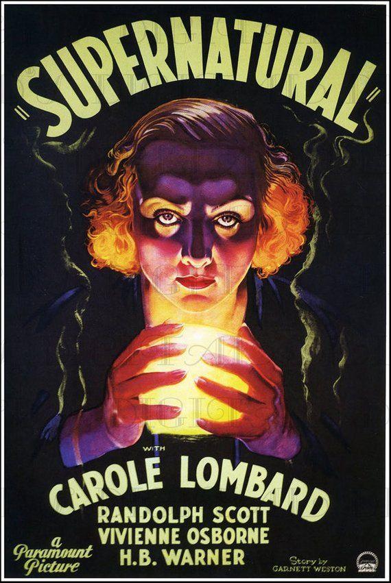 Supernatural Vintage Movie Poster Illustration Vintage Etsy In 2020 Movie Posters Vintage Movie Prints Movie Posters