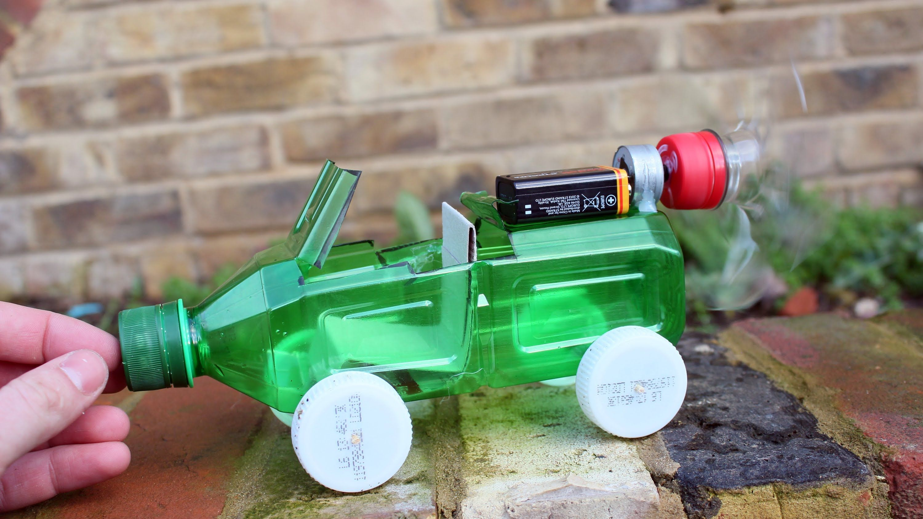How to make a Car - Powered Car - Very Simple - http://www ...