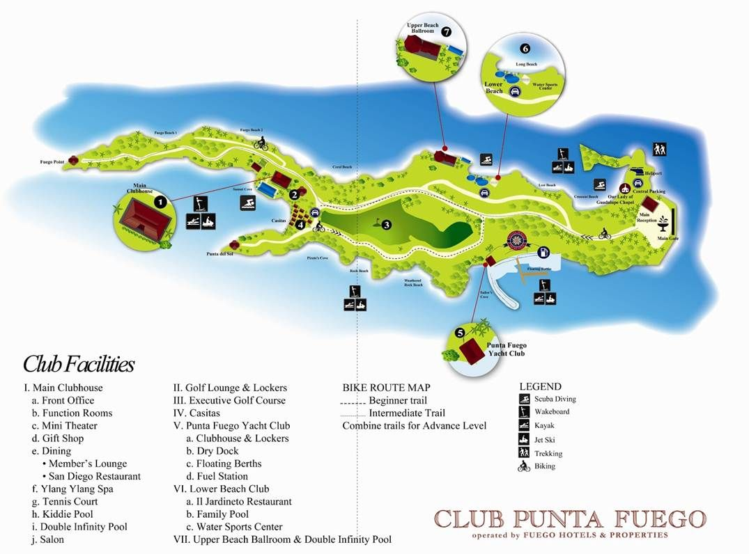 Punta Fuego Map Route Map Bike Route Club