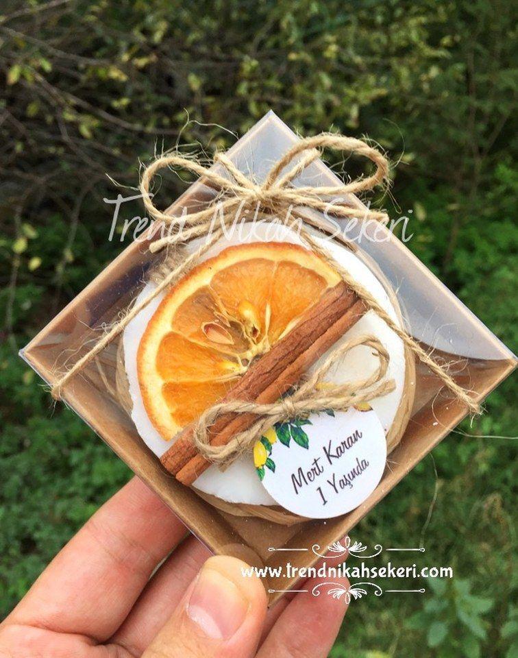 Portakal Tarçın Hediyelik Sabun