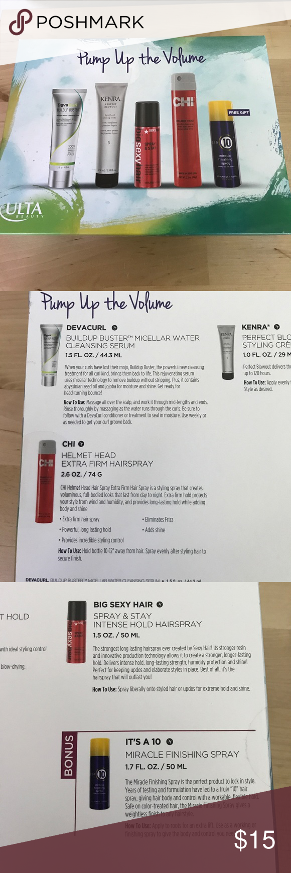 Ulta Beauty Pump Up The Volume Ulta Beauty Ulta Styling Cream