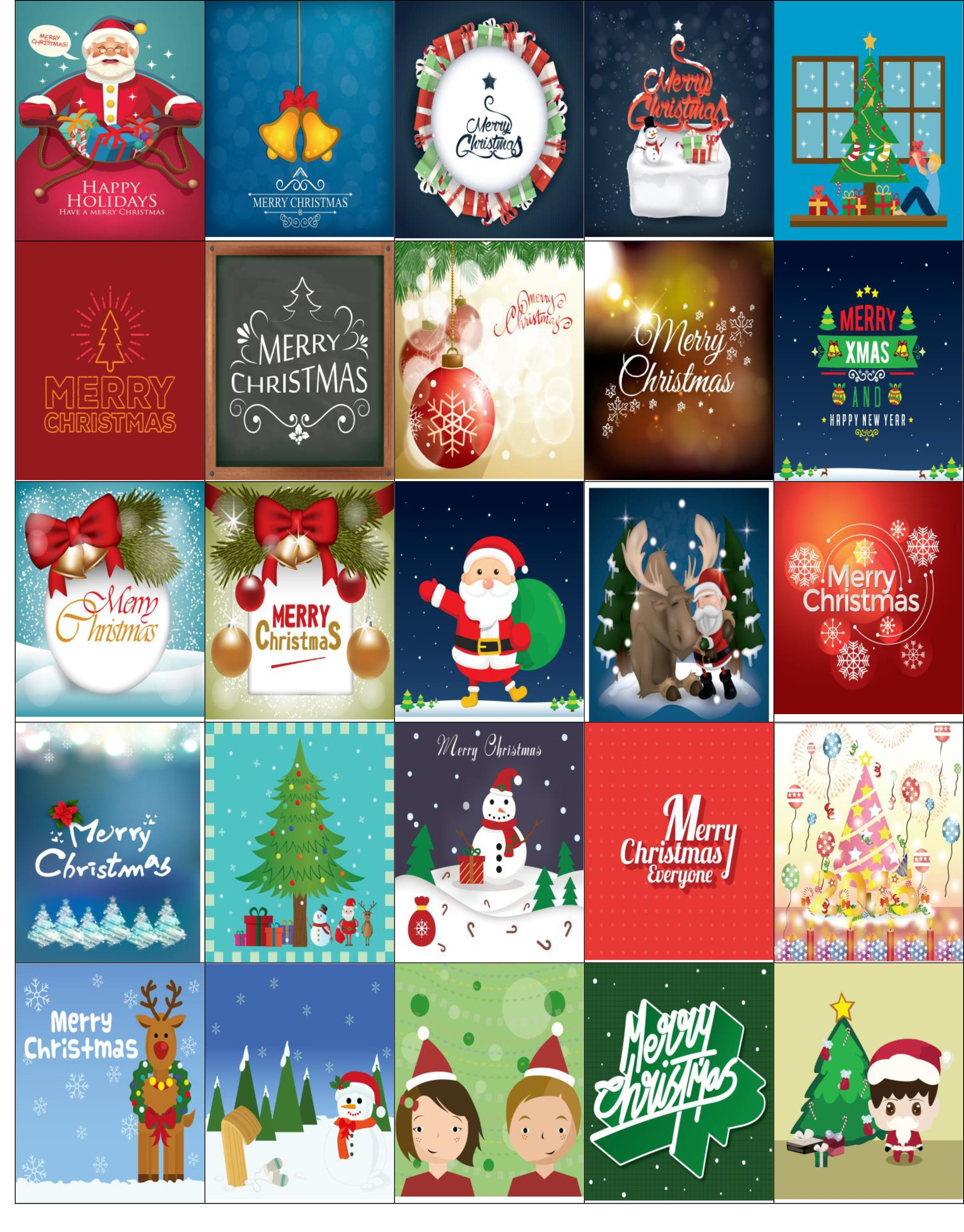 photograph relating to Printable Christmas Stickers called Totally free Printable-Xmas Stickers Terrific For Your Planner