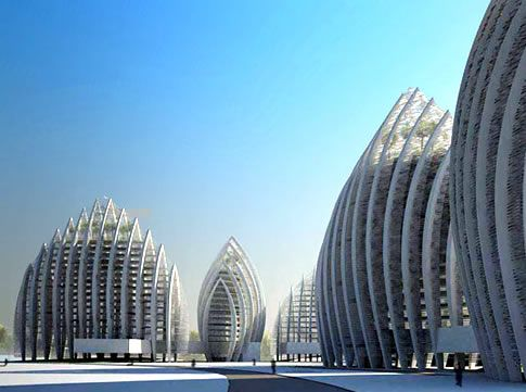 Super Cool Buildings in Malaysia  The design is by Studio Nicoletti Associati, who took part of their inspiration from traditional Islamic architecture is part of Sustainable architecture -