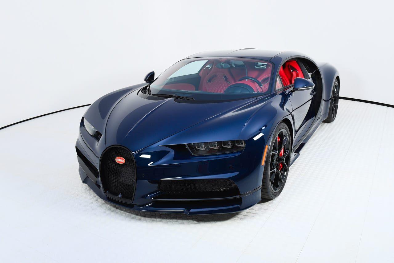 Blue Carbon Fiber 2018 Bugatti Chiron For Sale Bugatti Chiron Super Car Bugatti Bugatti Chiron Black