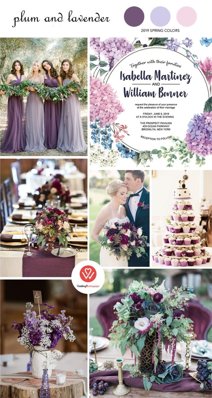 Cheap Wedding Invitations, Watercolor Wedding Invitations, Vellum Wedding Invitations,  Spring, Summer, Rustic, Country, Pink and Purple Lavender Hydrangea Floral Wedding Invitations, BOHO Floral Wedding Invitation WIP066