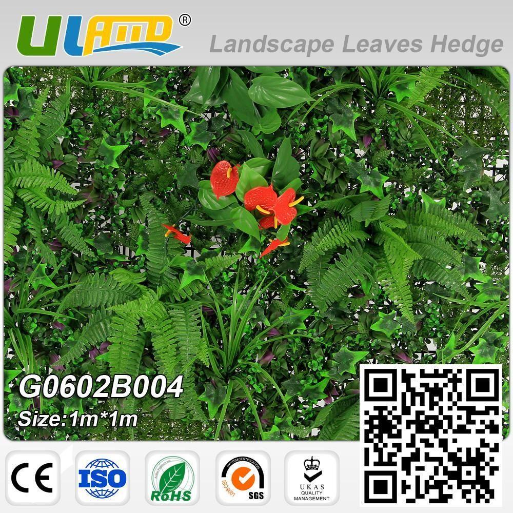 1M*1M Artificial Plants Fence Outdoor Artificial Foliage