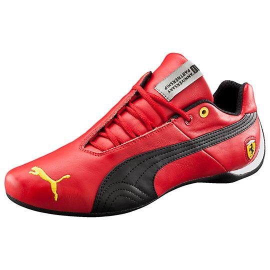 Ferrari Future Cat 10 Leather Men S Shoes Us Mens Puma Shoes Mens Fashion Shoes Mens Training Shoes