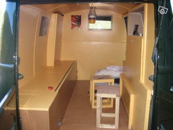 Renault estafette estafette pinterest cars for Interieur estafette