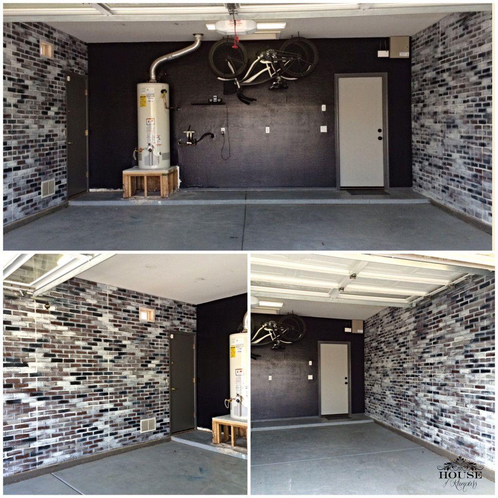 Brick, Contemporary, Eclectic, Faux Brick Panels, Faux