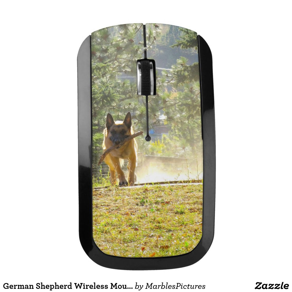 German Shepherd Wireless Mouse (With images