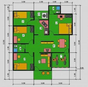 31 Model Desain Denah Rumah Idaman Keluarga 2014 Http Desainrumahminimalis Club 31 Model Desain Denah Rumah Idaman Keluarga Denah Rumah Rumah Minimalis Rumah
