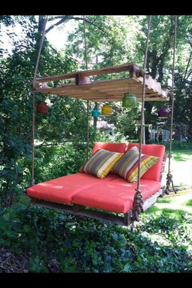 udendørs seng Udendørs seng | Yard | Pinterest | Pallets, Backyard and Yards udendørs seng