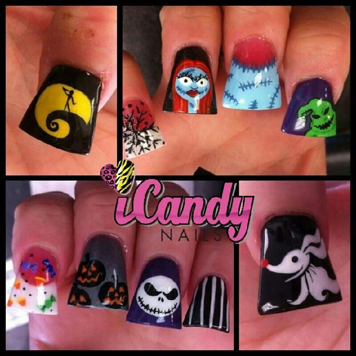 nightmare b4 xmas   nails nails & nails   Pinterest   Holiday ...