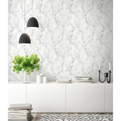 Marble Texture Peel And Stick Wallpaper Backsplash Bathroom Bar