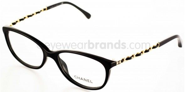 9d7d77ab32c Chanel CH3221Q C622 BLACK GOLD Chanel Frames