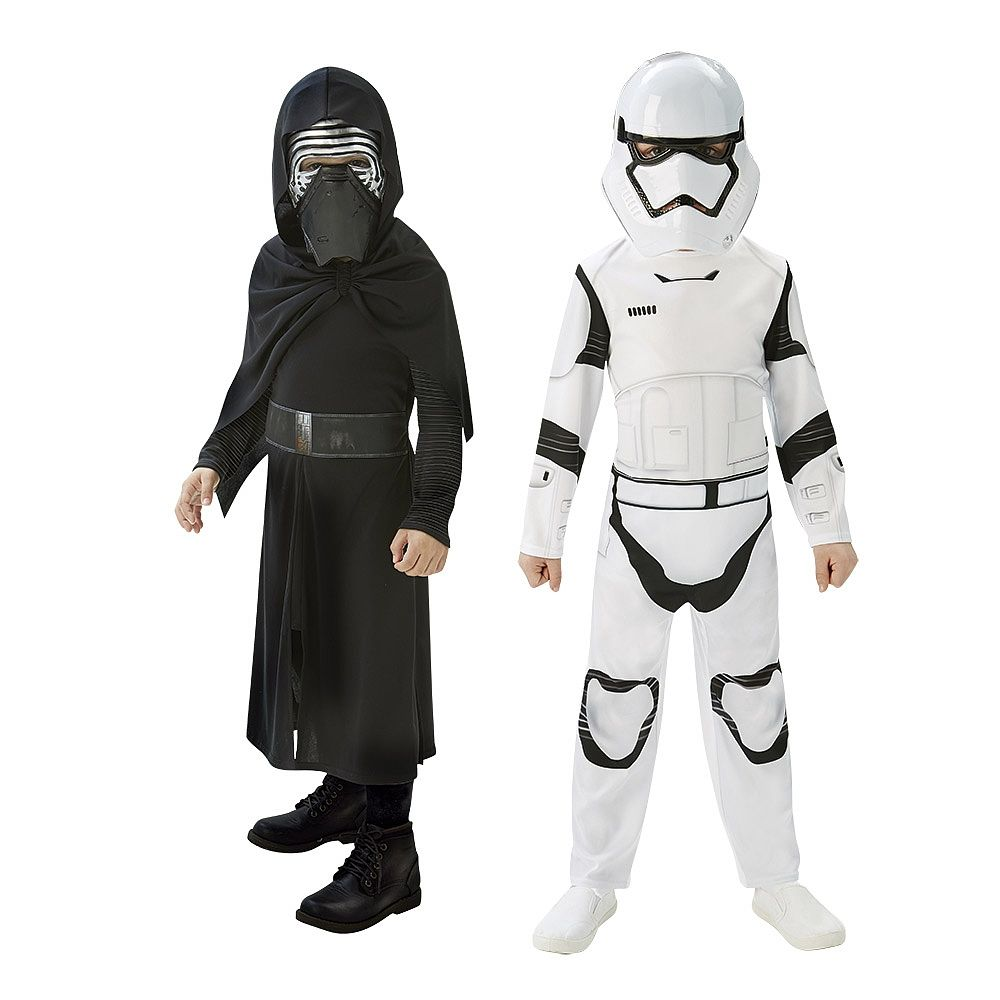Rubies StarWars New Kids Classic Stormtrooper Darth Vader Kylo Poe Finn Costume
