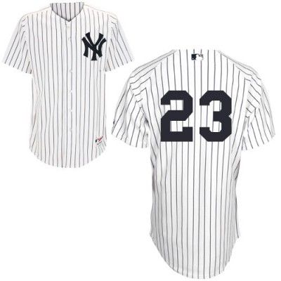 New York Yankees 23 Don Mattingly Authentic White Home Mlb Jersey From Stan S Sports World New York Yankees Custom Jerseys Jersey