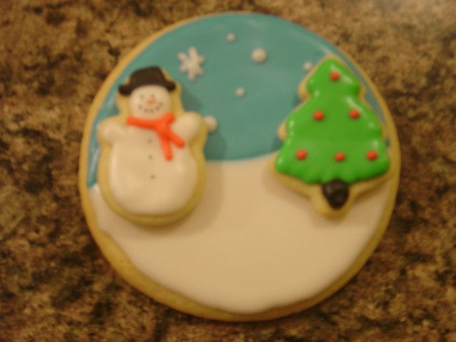 Winter Scene Cookies | Flickr - Photo Sharing!