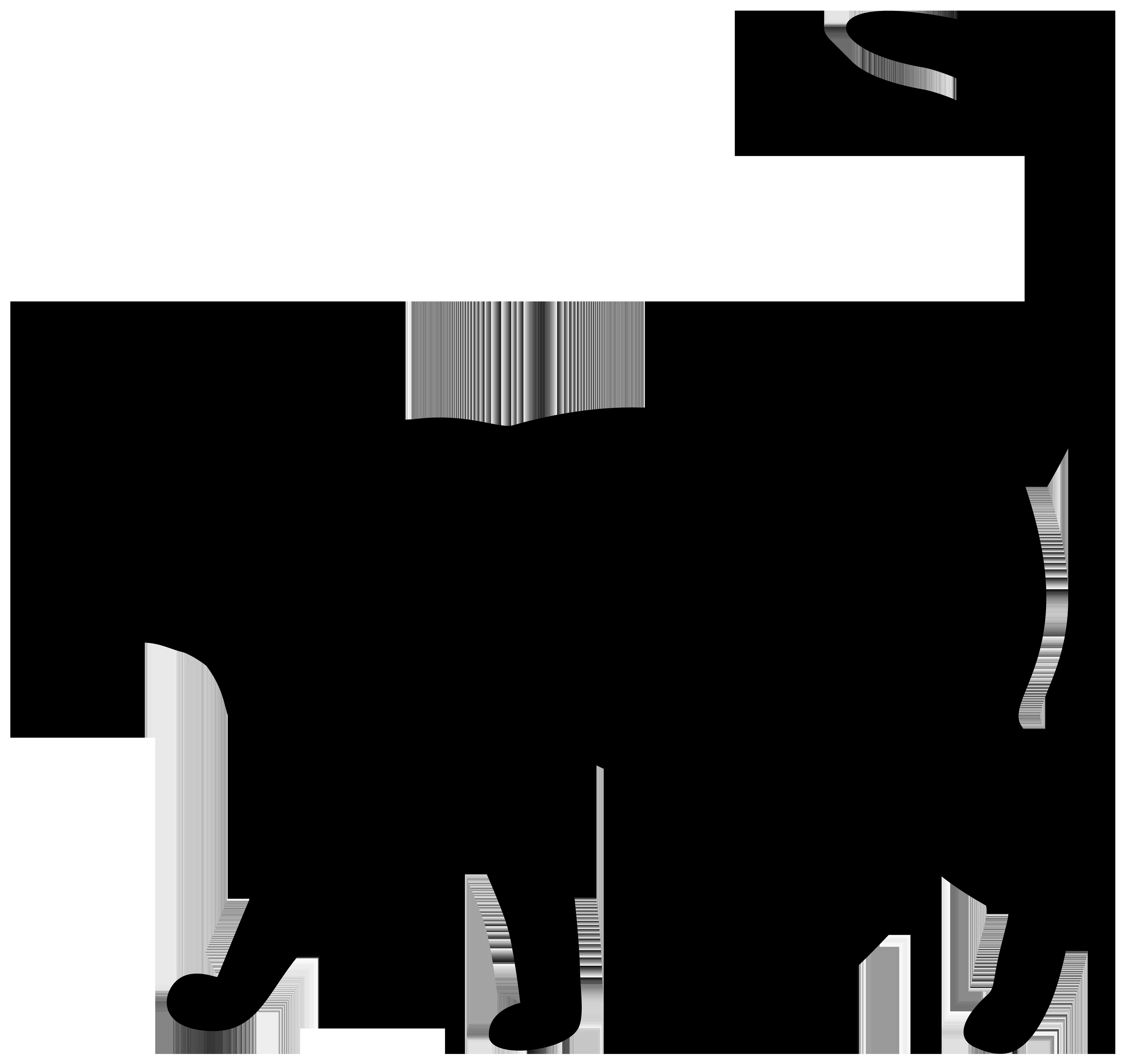 8000x7522 Black Cat Clipart Transparent Black cat