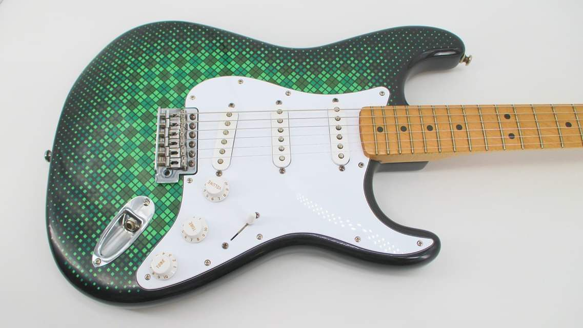 Body For Sale Only The Pics Are As A Fully Assembled Strat For Demonstration Purposes Only The Custom Fender Stratocaster Custom Paint Custom Paint Jobs