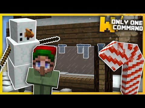 Christmas Minecraft Decorations.Outdoor Christmas Decorations Command Block 1 11 2 1 11