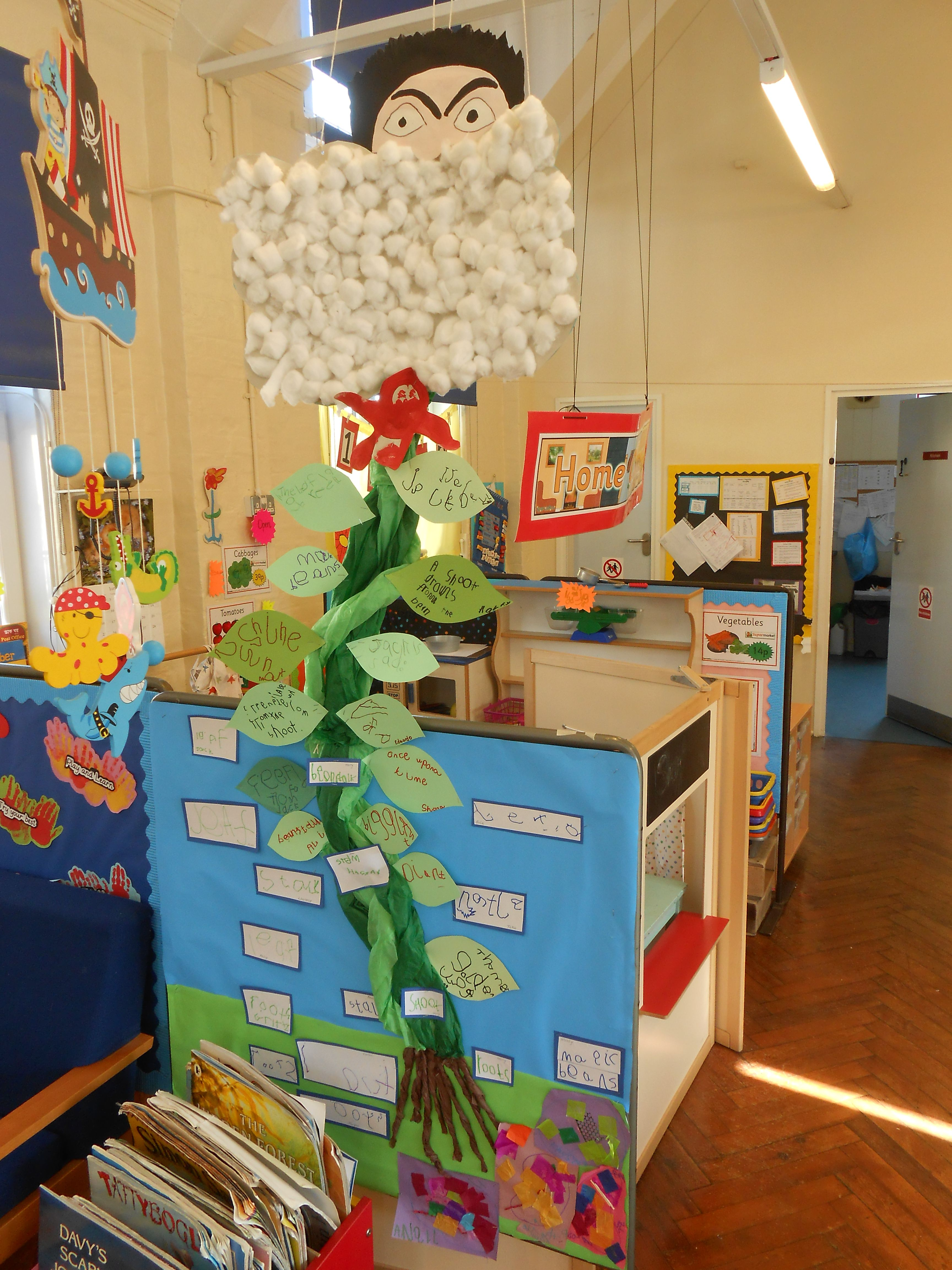 Jack And The Beanstalk Display For Nursery