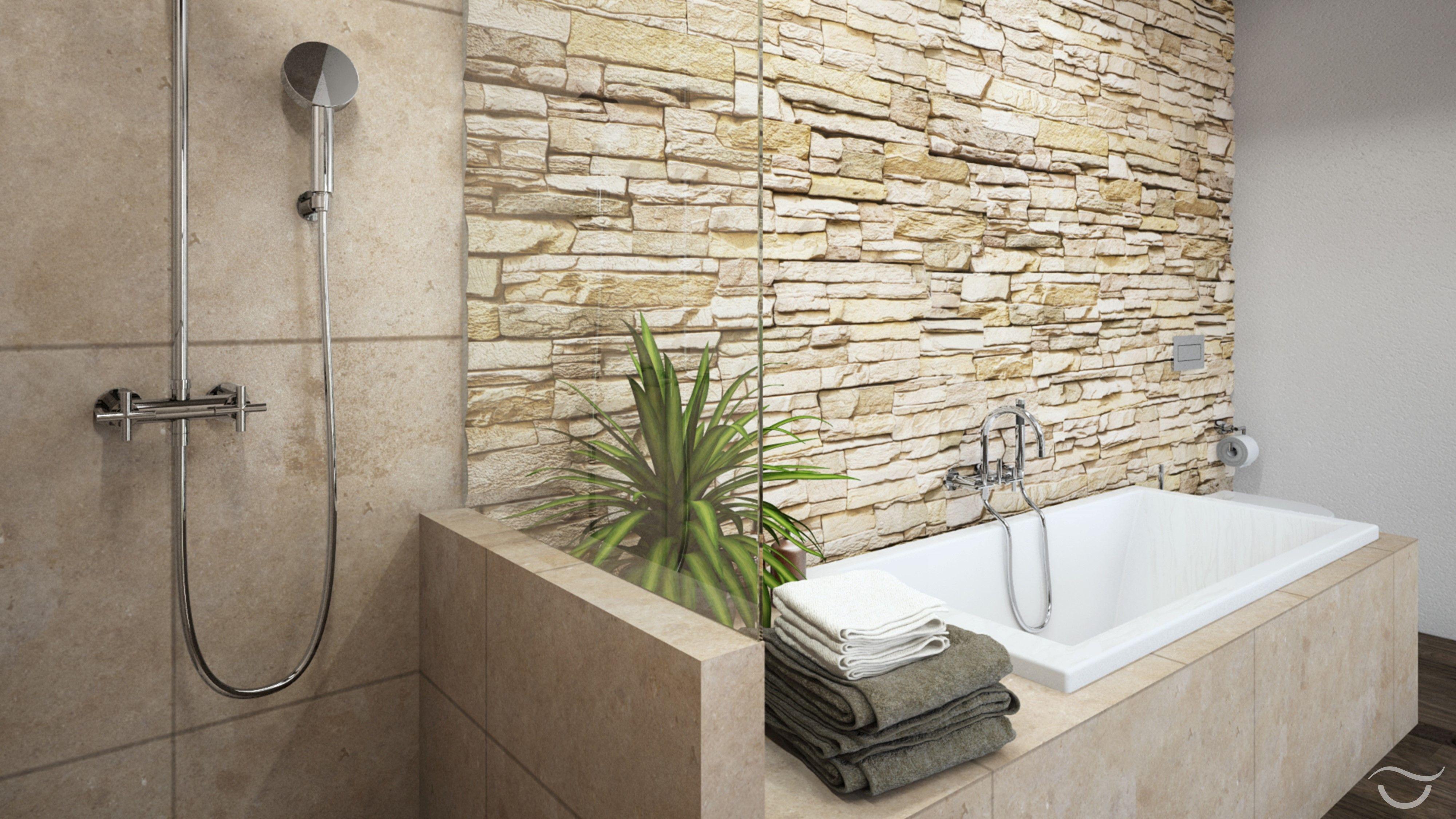 Stone wall | Haus | Pinterest | Stone walls and Walls