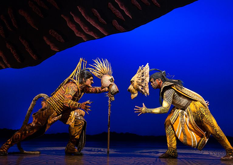 Lion King Broadway Show New York City