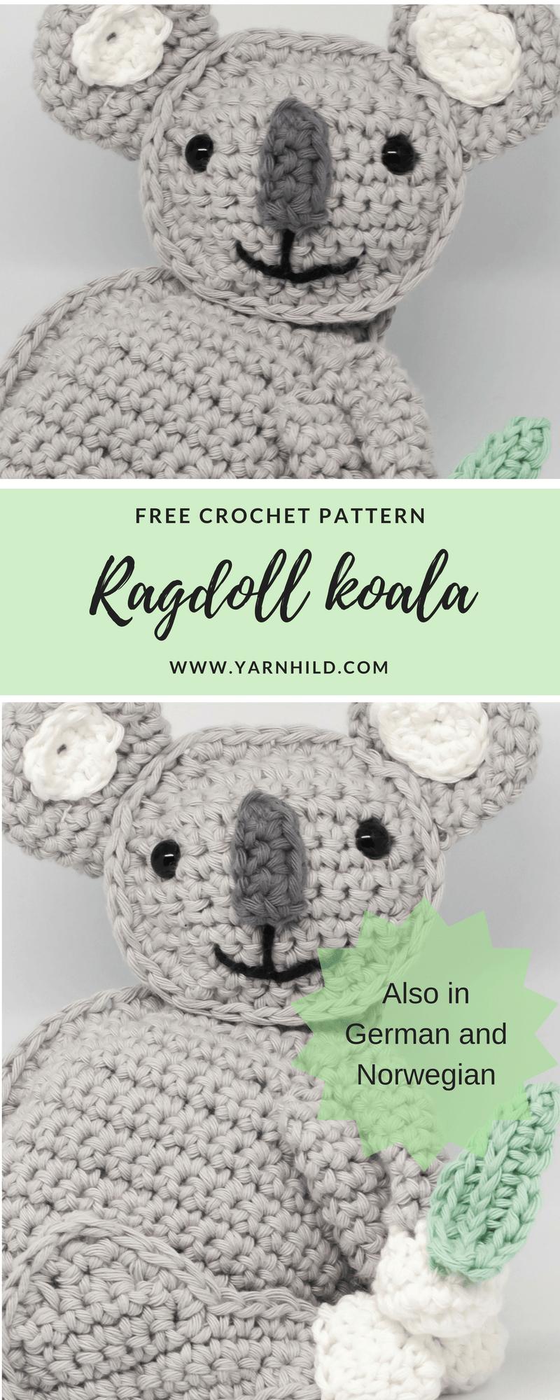 Finn der Koala   Best of crochet   Pinterest   Haekeln deutsch ...