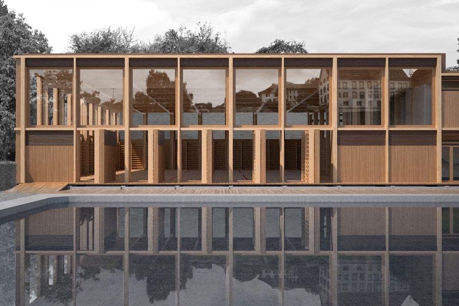 Die besten 25+ Hallenbäder Ideen auf Pinterest erstaunliche - ehemaligen thermalbadern modernen jacuzzi