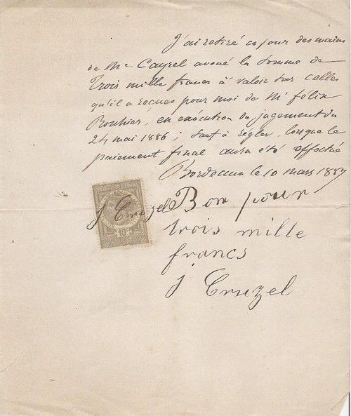 1887 french letter with stamp from petit brocante on etsy 1887 french letter with stamp from petit brocante on etsy spiritdancerdesigns Images