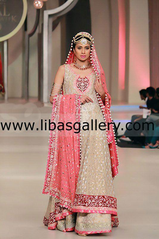 Pakistani Wedding Lehenga And Sharara Suits Collection 2013-2014 By ...