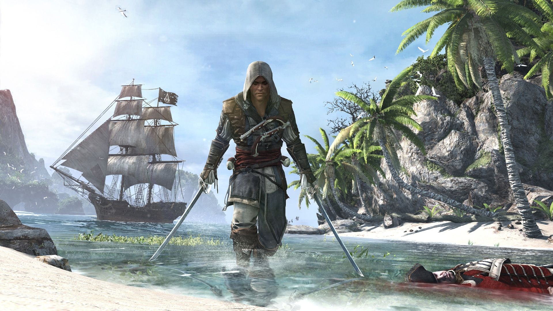 Girls on Games: *VIDEOS* Assassin's Creed IV: Black Flag World Premiere Trailers and Screenshots