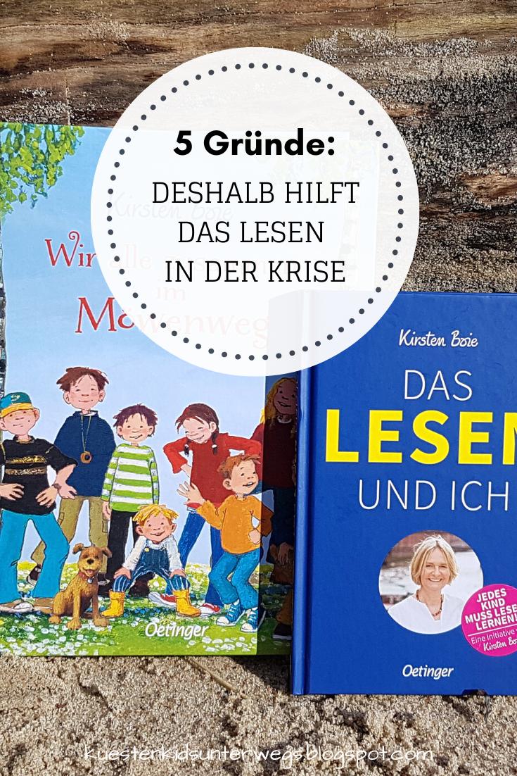 5 Grunde Deshalb Hilft Lesen In Der Krise Kinderbucher Bucher Lesen