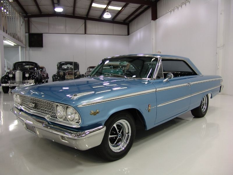 Ford Galaxie Nearly 100 000 Receipts Ford Galaxie Ford Galaxie 500 Classic Cars Usa