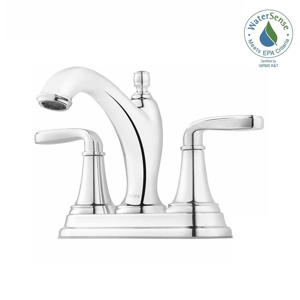 Pfister Northcott 4 In Centerset 2 Handle Bathroom Faucet In