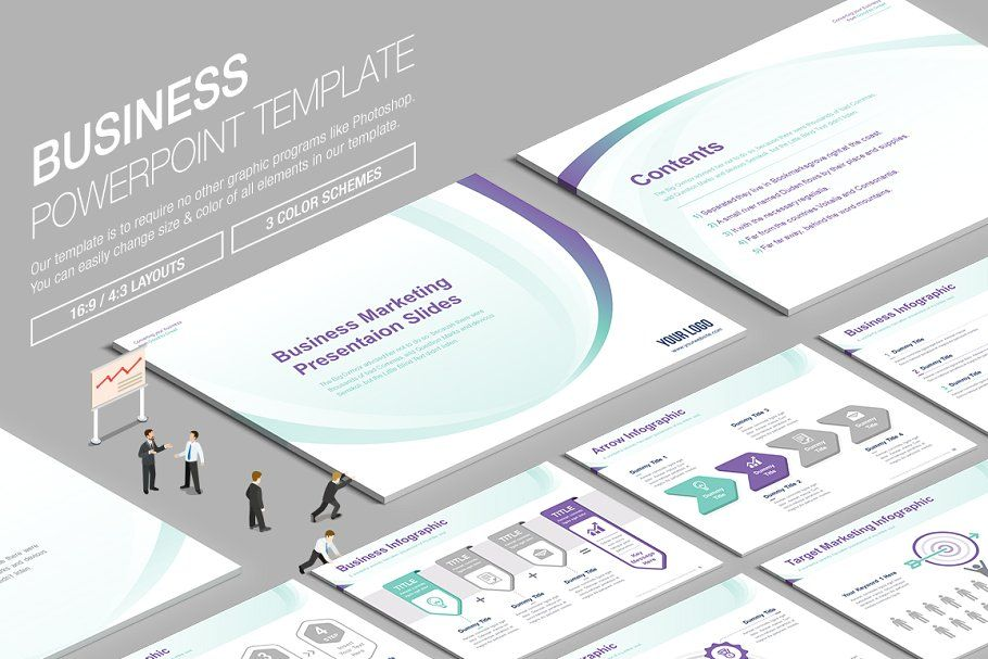 Business Powerpoint Template Vol 17 In 2020 Business Powerpoint Templates Powerpoint Templates Keynote Template