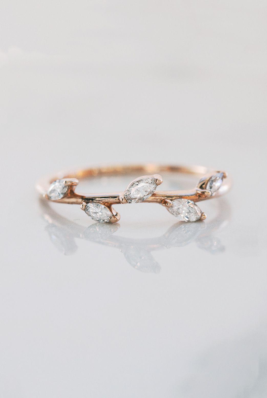 5 Diamond Ring Thin Wedding Ring Delicate Wedding Ring Etsy Delicate Wedding Ring Minimalist Diamond Rings Thin Wedding Ring