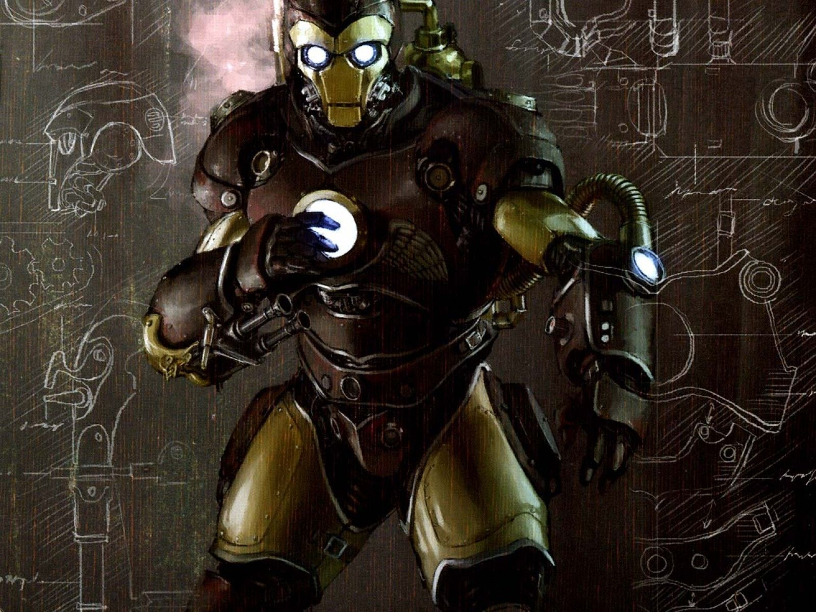 30 cool steampunk wallpapers design trends - Iron Man Steampunk Wallpapers Uk Backgrounds For All Your Devices