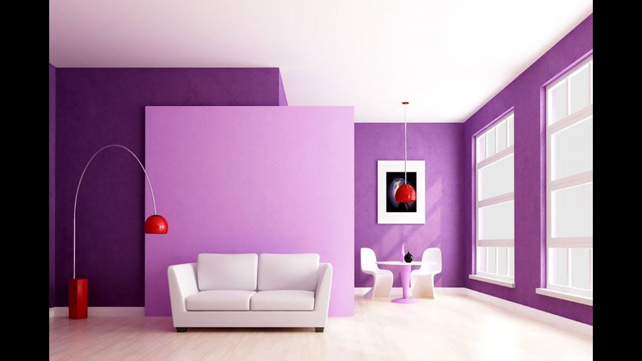 100 Modern Living room wall paint, Best Color combination ideas in ...
