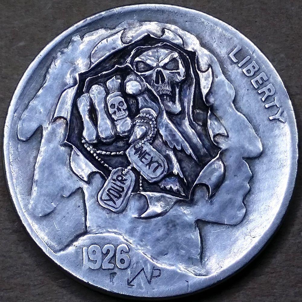 NARIMANTAS PALSIS HOBO NICKEL - 1926 BUFFALO NICKEL | PALSIS