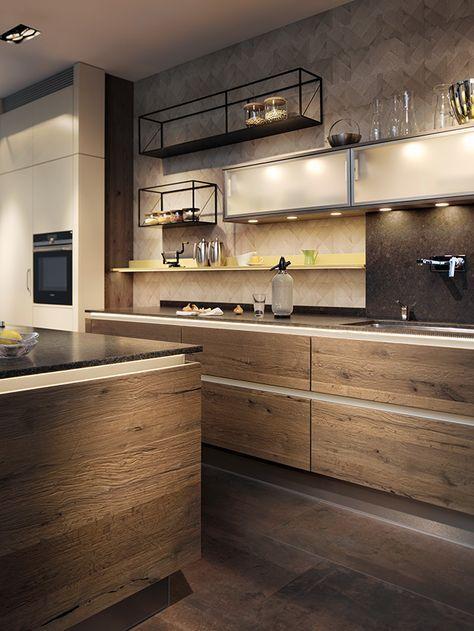 Breitschopf Macht Ihre Küche | → Barrique Alteiche Grey | Ausstellungsküche  Designerküche Designerküchen Einbauküche Holzküche Küche