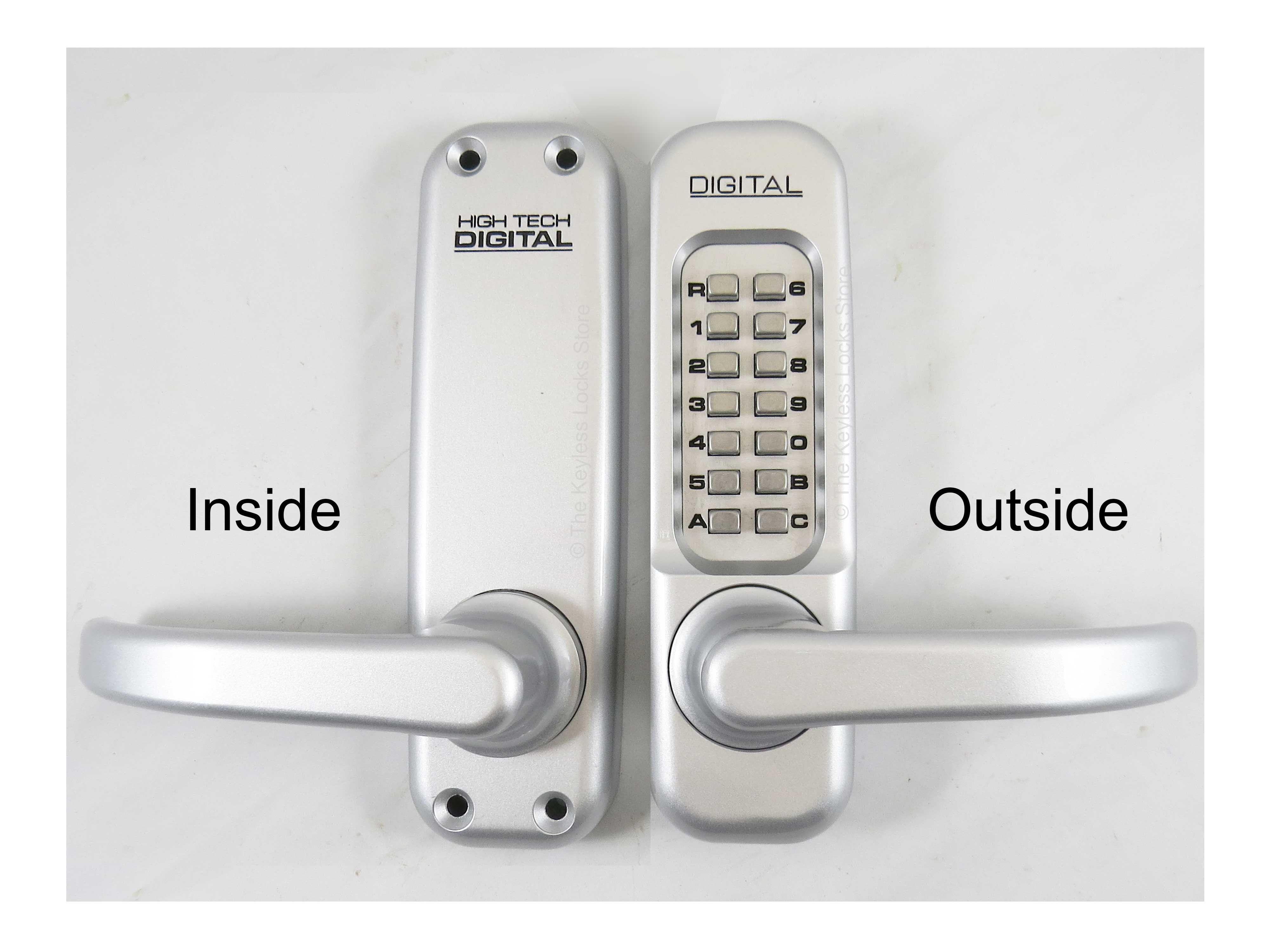 Lockey 1150 Keypad Entry Lock Locking Door Handle Keypad Lock Door Handles Digital Door Lock